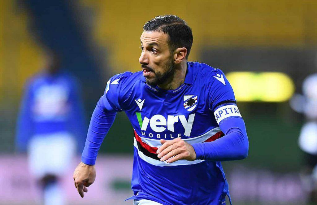 Sampdoria Parma Quagliarella nuovo record (Getty Images)