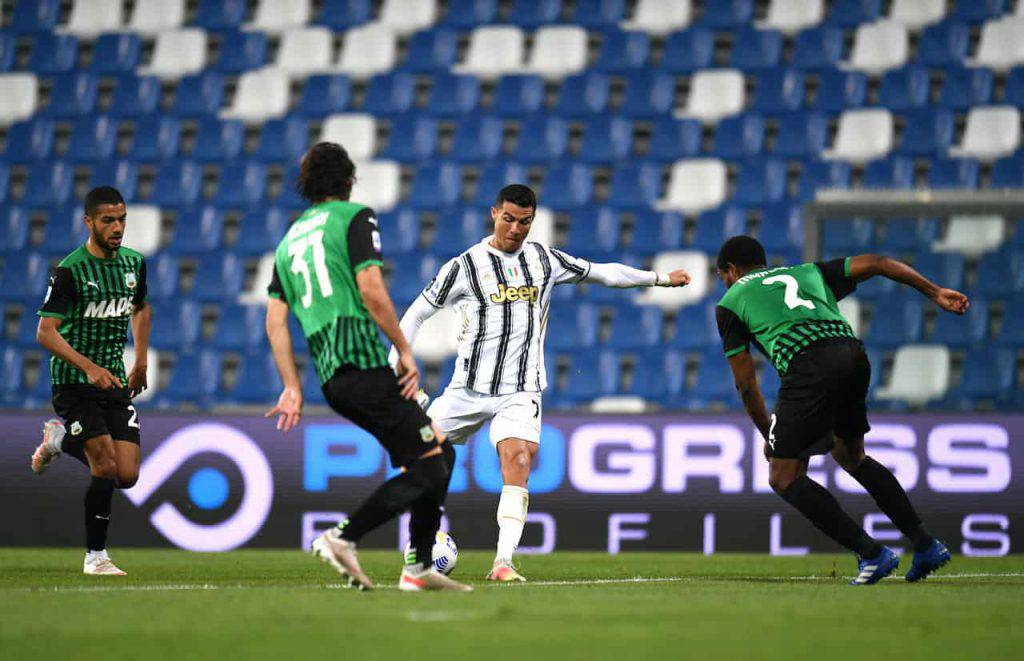Sassuolo Juventus highlights (Getty Images)