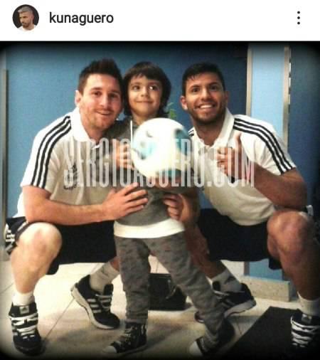 Aguero Messi Benjamin