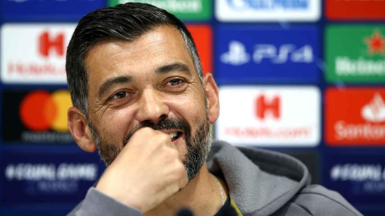 Sergio Conceiçao allenatore del Porto