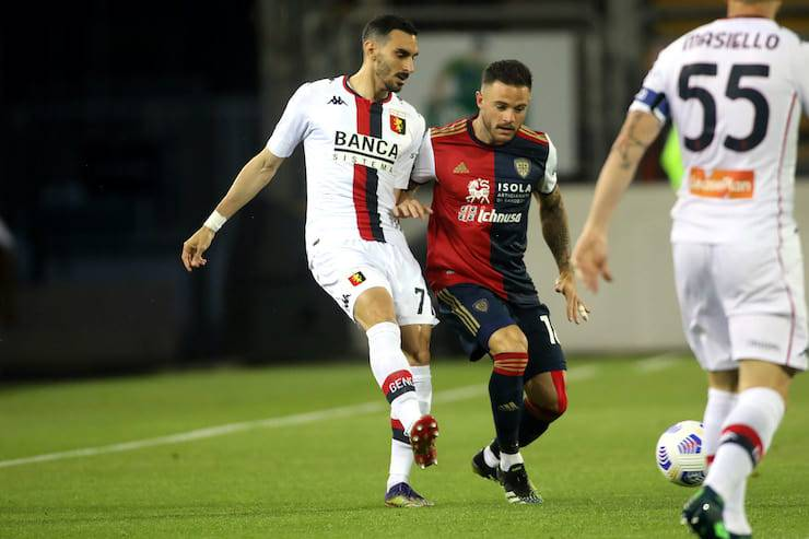 Sintesi Cagliari Genoa (Getty Images)