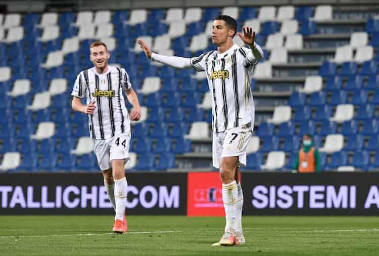 Sintesi Sassuolo Juventus (Getty Images)