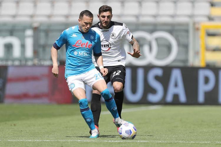 Spezia Napoli highlights