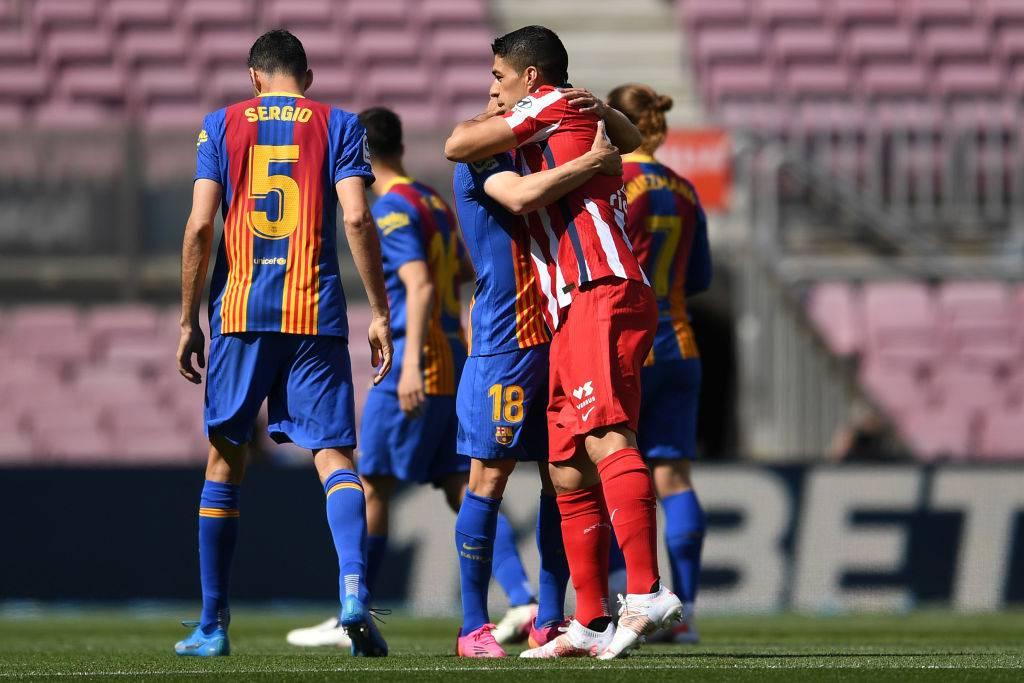Barcellona Atletico Madrid Suarez