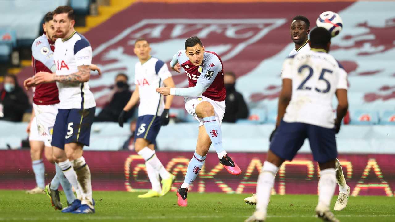 Tottenham Aston Villa formazioni