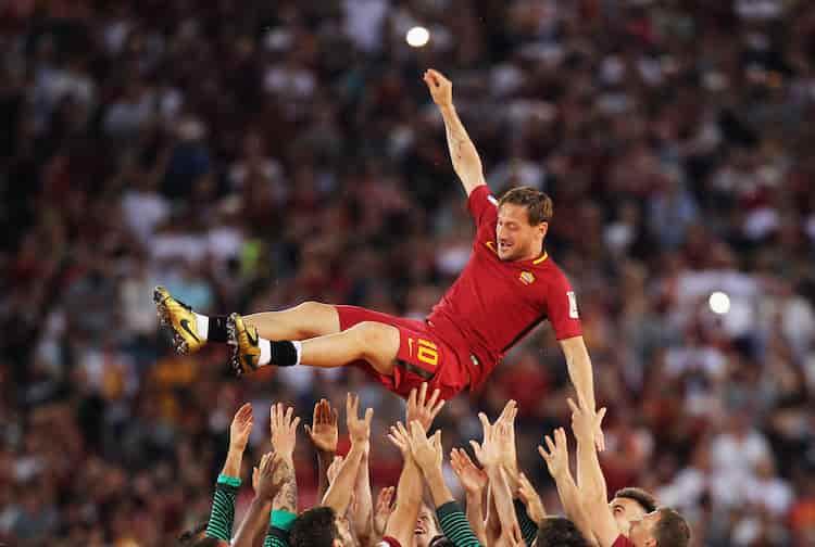 Totti, premiato il docu-film (Getty Images)