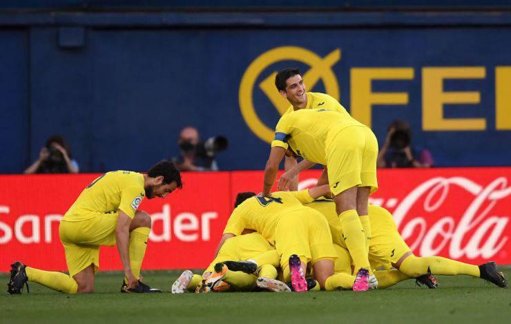 LIVE Villareal-Manchester United