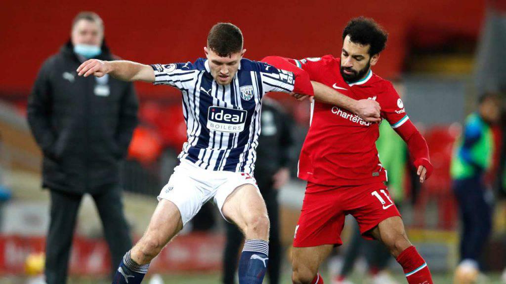 West Bromwich Liverpool formazioni