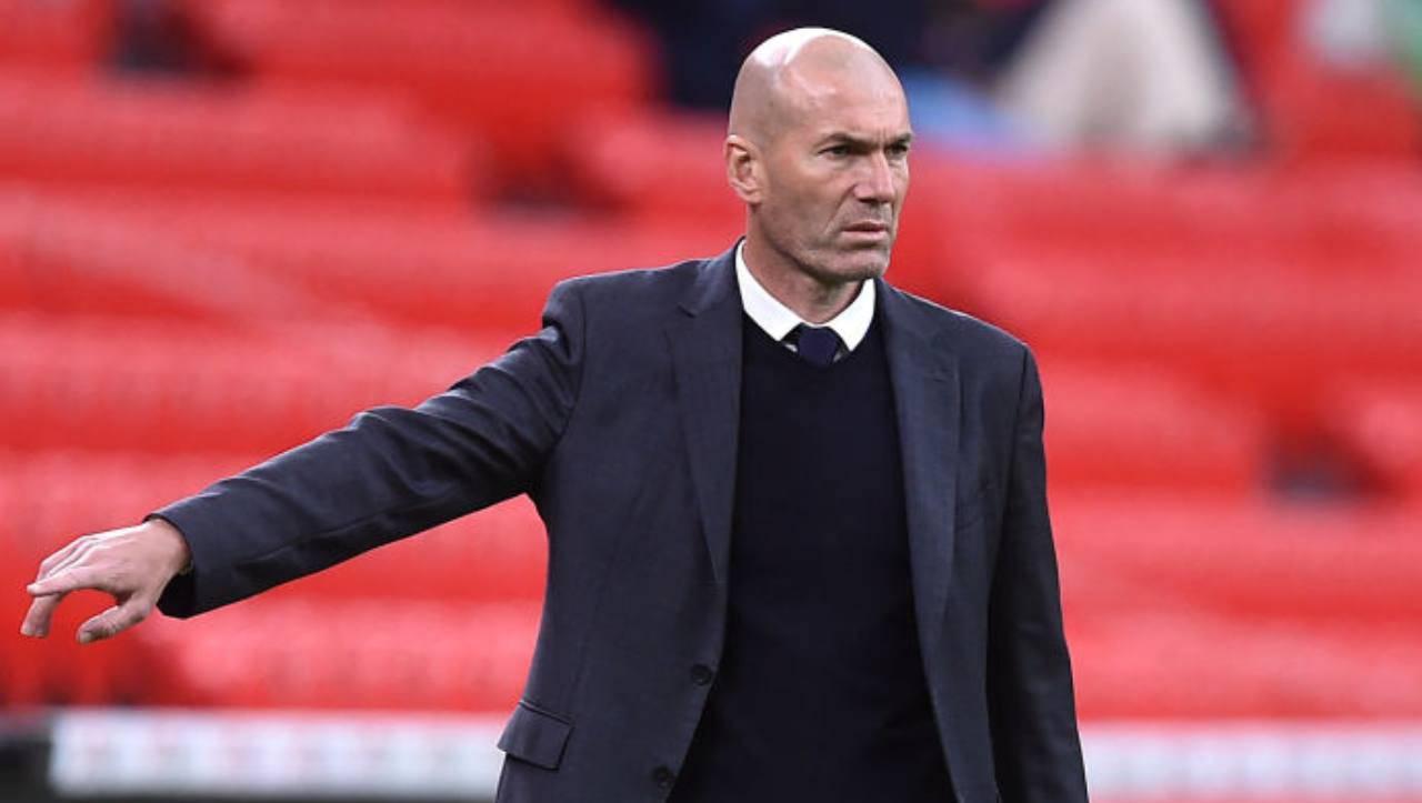 Zidane allenatore Real Madrid