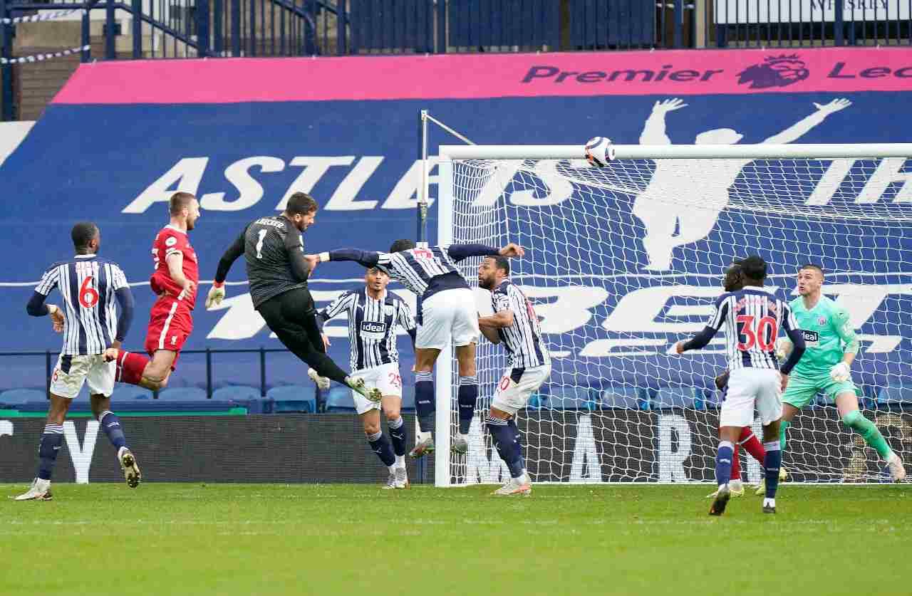 Allison gol 95esimo (Getty Images)