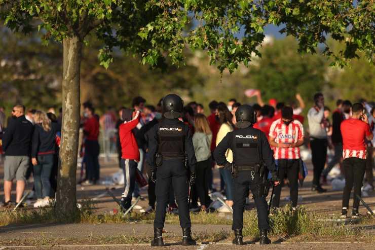 Atletico Madrid, festa Liga: morto un giovane tifoso