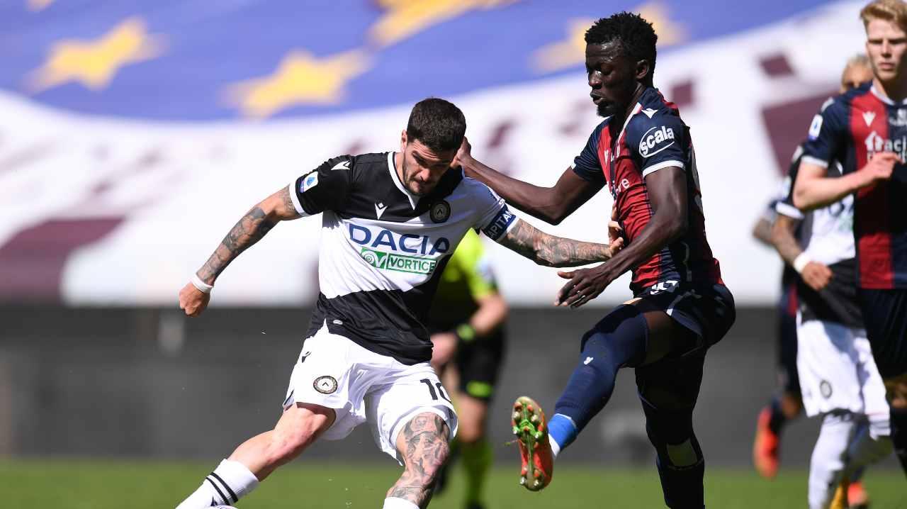 Udinese Bologna De Paul
