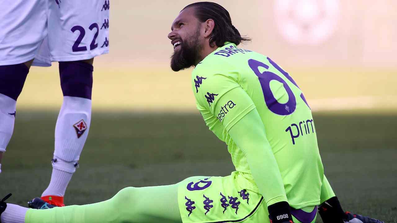 Cagliari Fiorentina Dragowski (Getty Images)