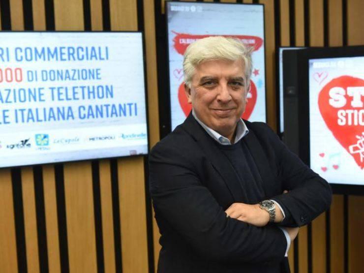 Il dg della Nazionale cantanti Gianluca Pecchini