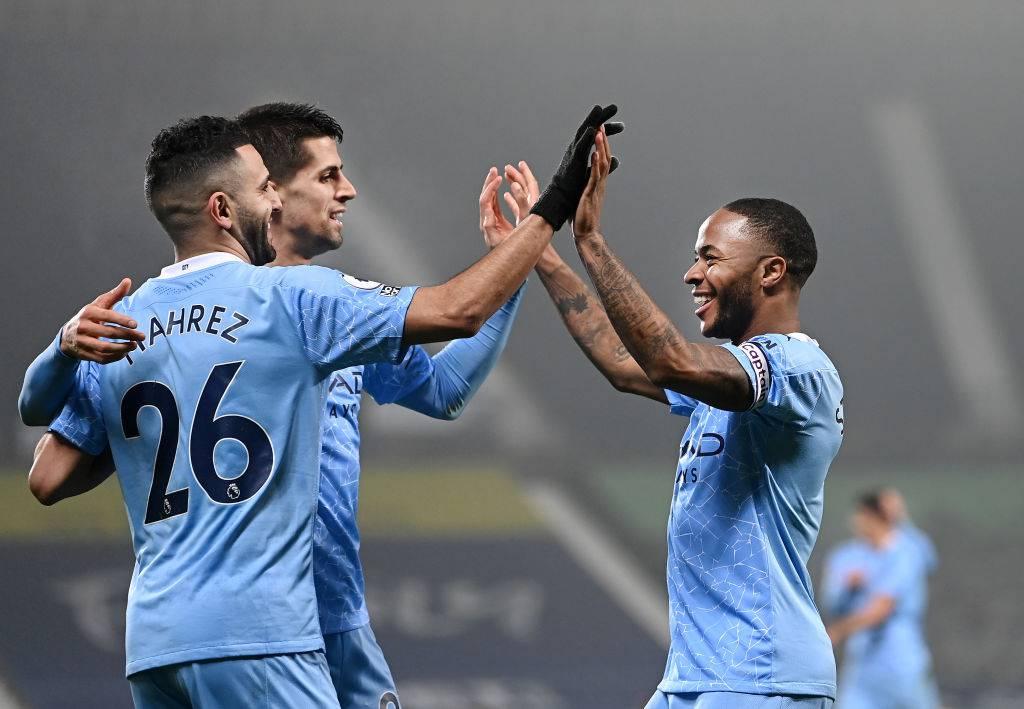Manchester City PSG Mahrez