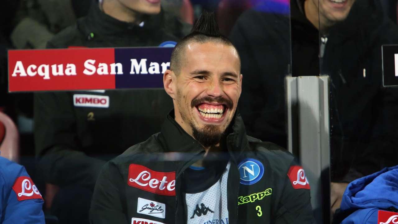 "Marek Hamsik elogia De Laurentiis e boccia la Super Lega: ""Pensano solo ai soldi"""