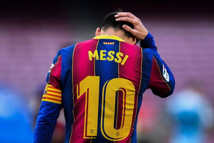 Leo Messi può lasciare il Barcellona