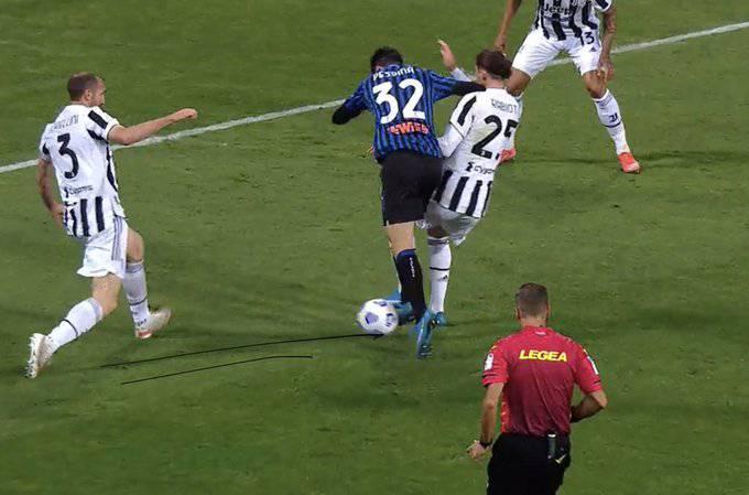 Moviola Atalanta Juventus