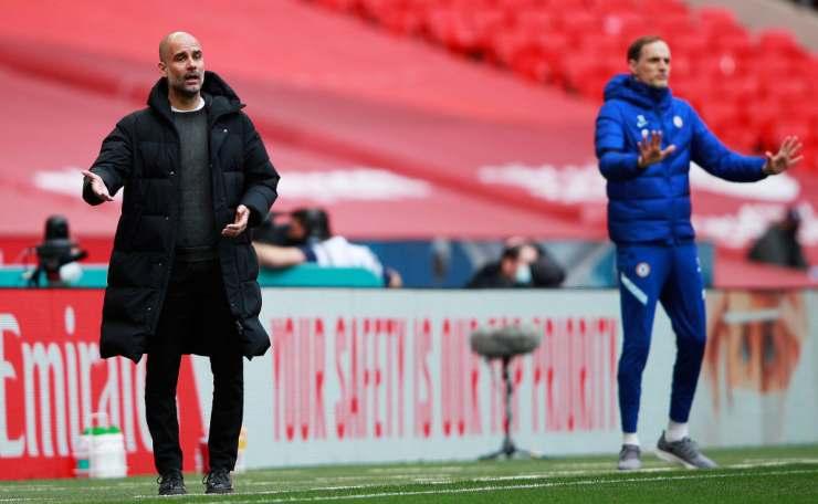 Champions League, Guardiola e Tuchel in campo