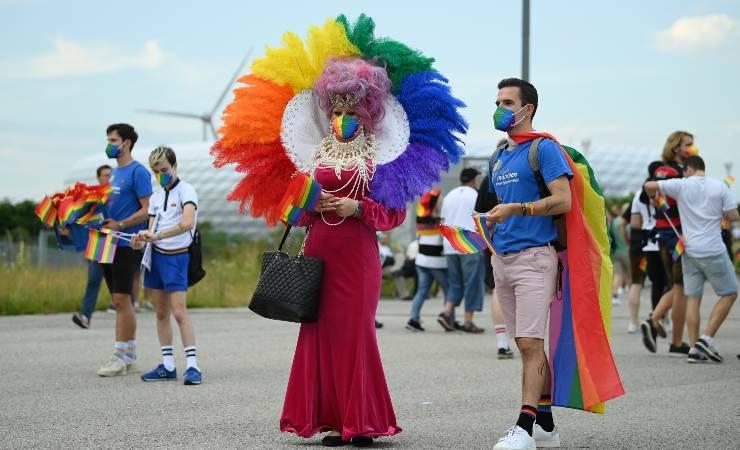 tifosi germania ungheria protesta uefa