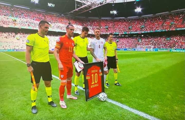 Galles Danimarca Bale Eriksen