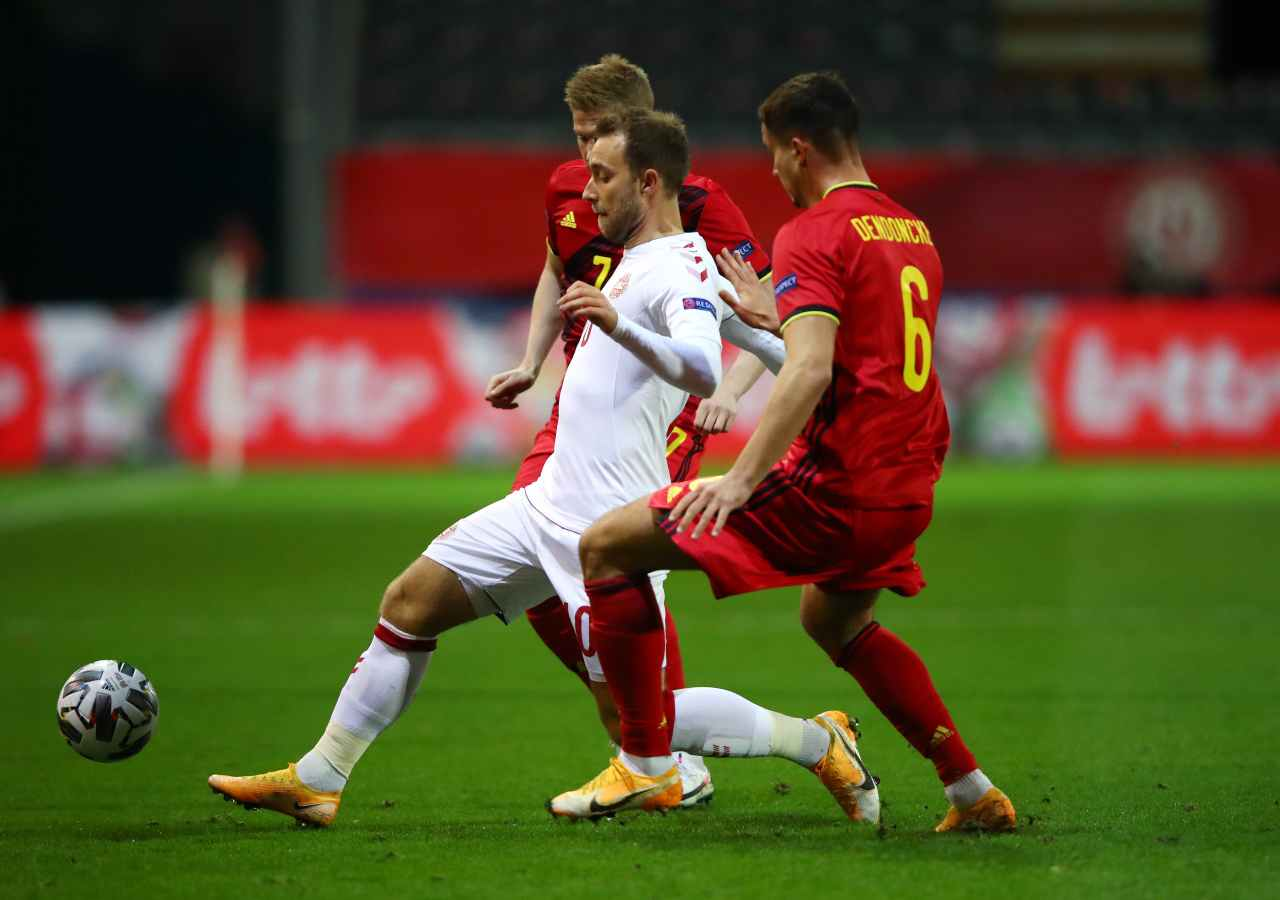 Belgio Danimarca Eriksen