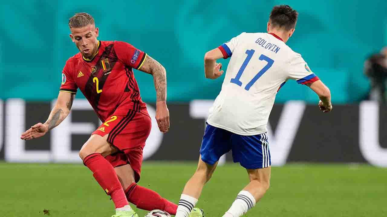 Belgio Russia Pagelle