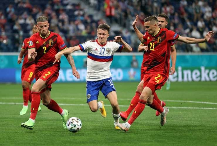 Highlights Belgio Russia