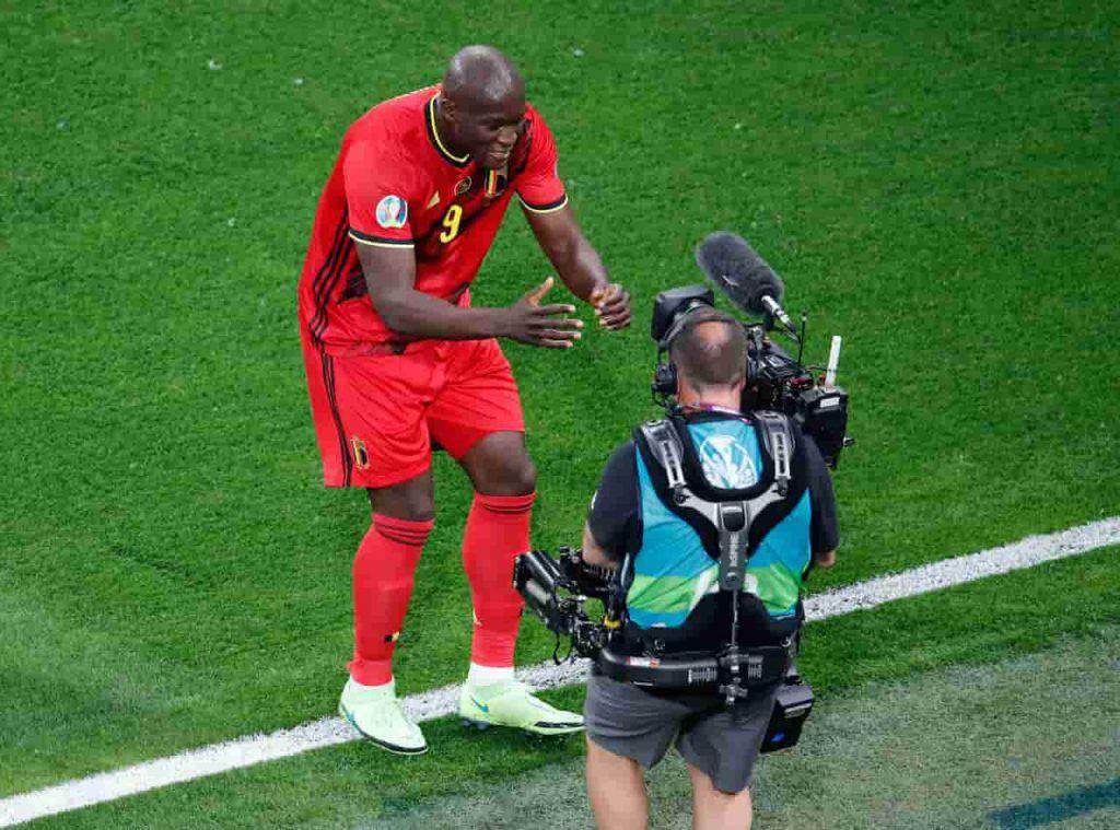 Belgio Russia Lukaku dedica Eriksen (Getty Images)