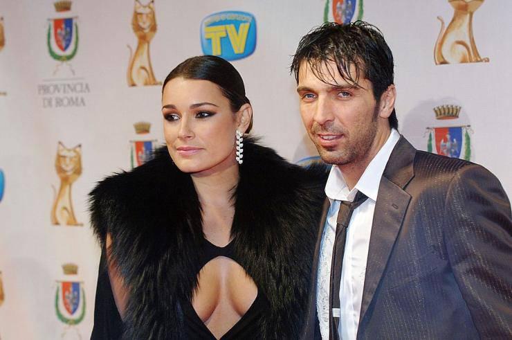 Buffon e Alena Seredova