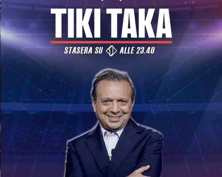 Chiambretti confermato a TikiTaka (Getty Images)