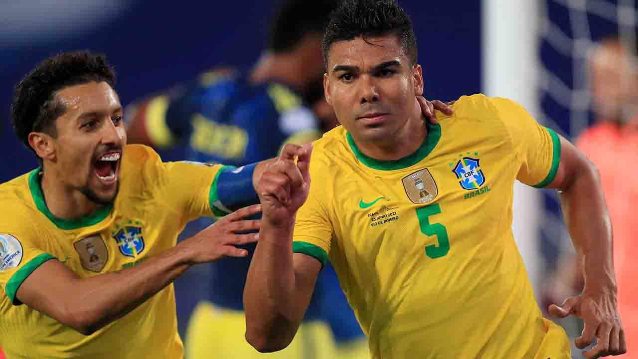 Copa America Casemiro