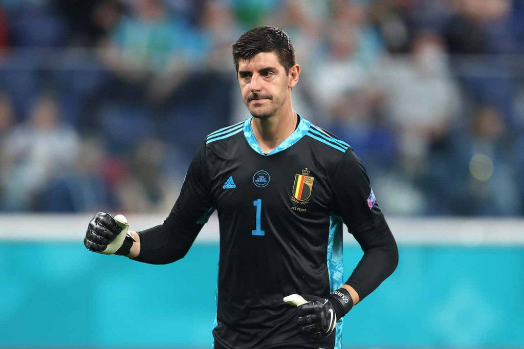 """Courtois portiere """"bomber"""" (Getty Images)"""