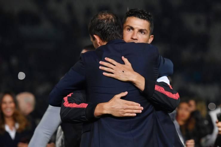 Cristiano Ronaldo Allegri