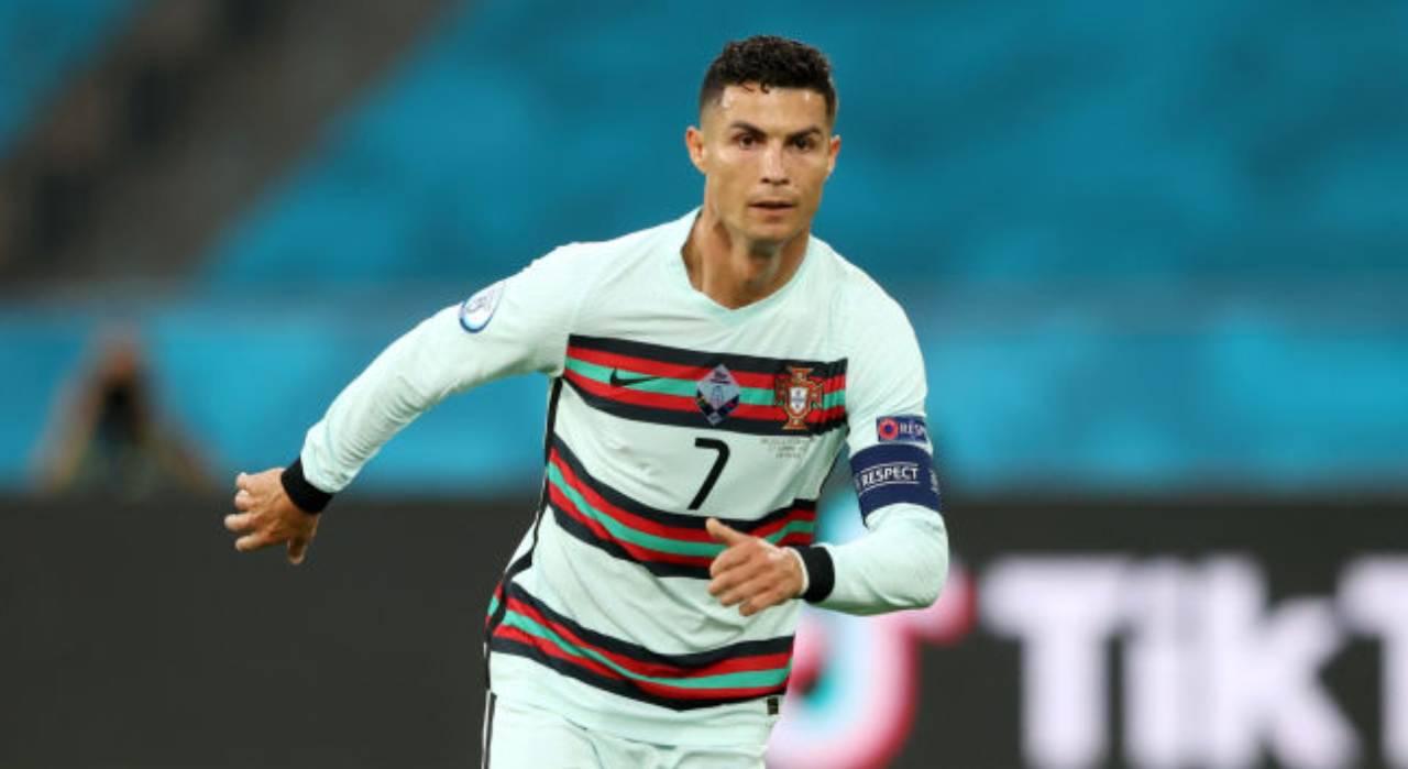 Cristiano Ronaldo attaccante