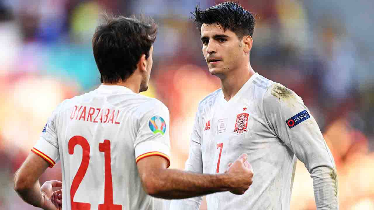 Croazia Spagna Morata