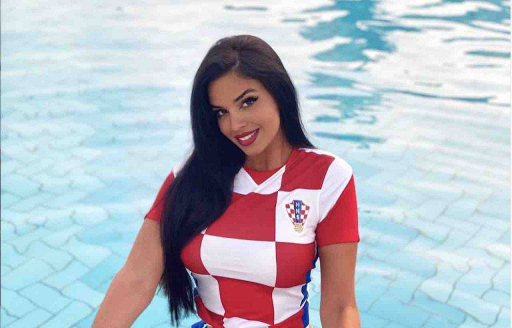 Croazia-Spagna tifosa speciale (Instagram)