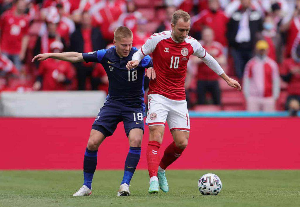 Danimarca Finlandia Eriksen MVP (Getty Images)