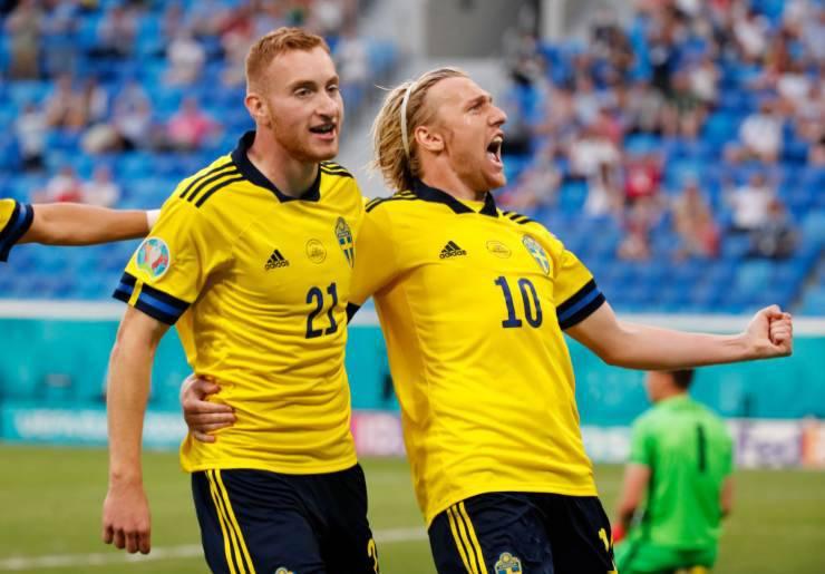 Kulusevski EURO 2020 Record