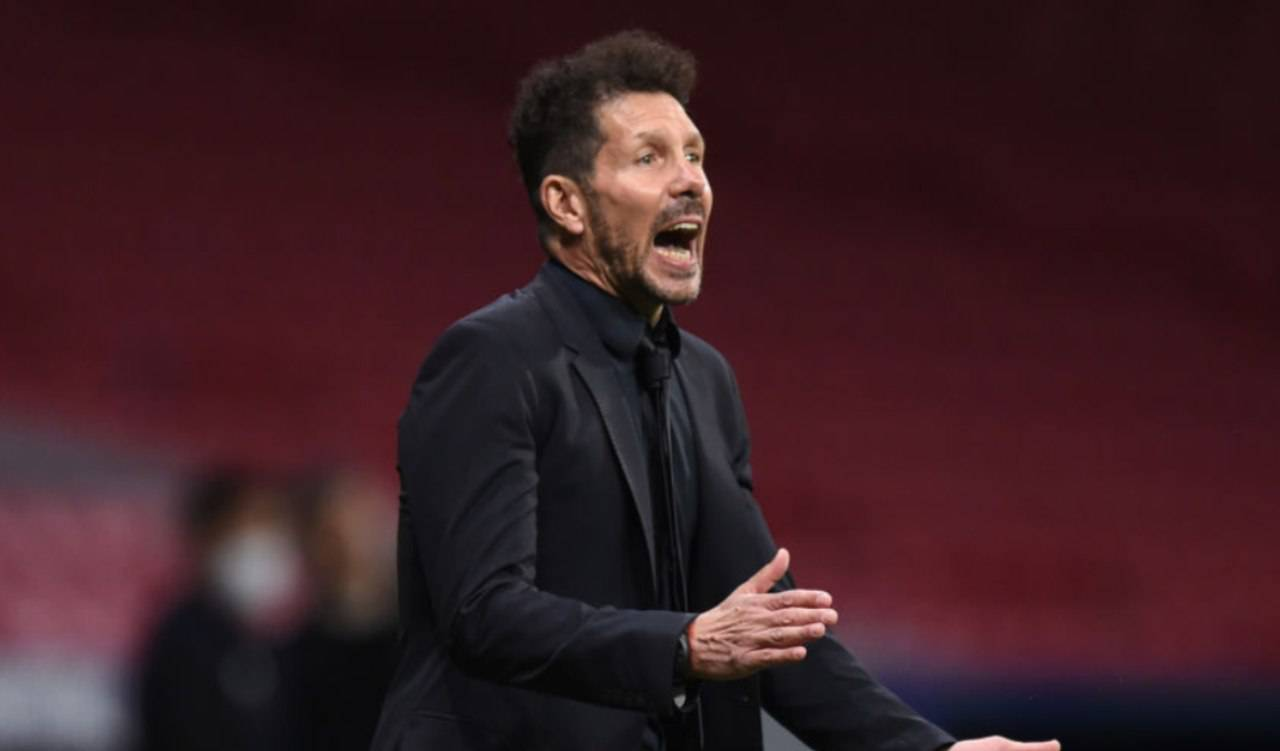 Diego Simeone allenatore