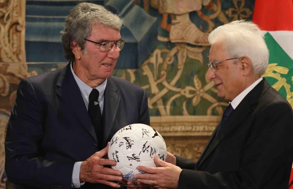 Dino Zoff Italia Mattarella