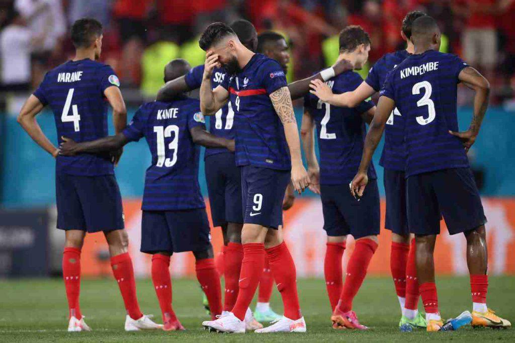 Disfatta Francia stampa