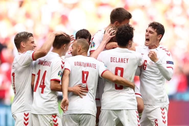 Highlights EURO 2020 Galles Danimarca