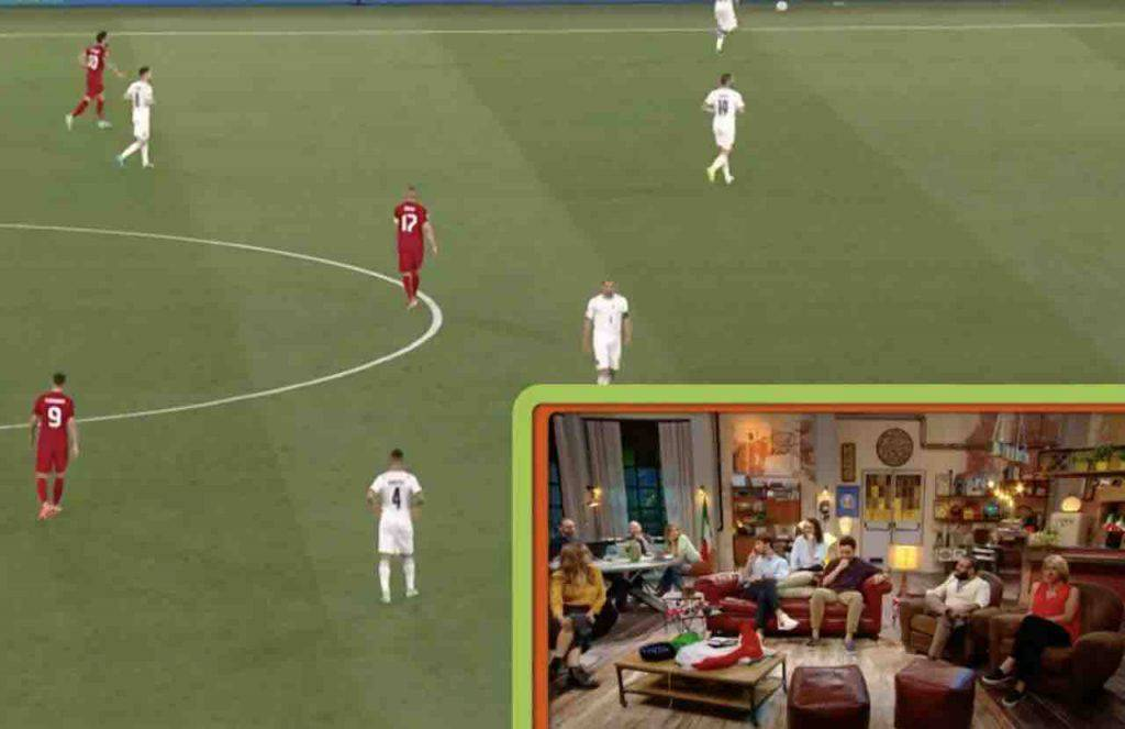 EURO 2020 Turchia Italia con The Jackal (RaiPlay)