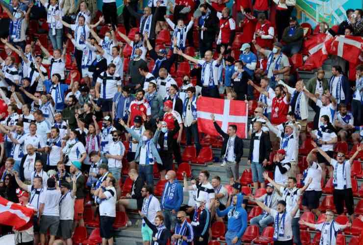 Eriksen Danimarca Finlandia EURO 2020