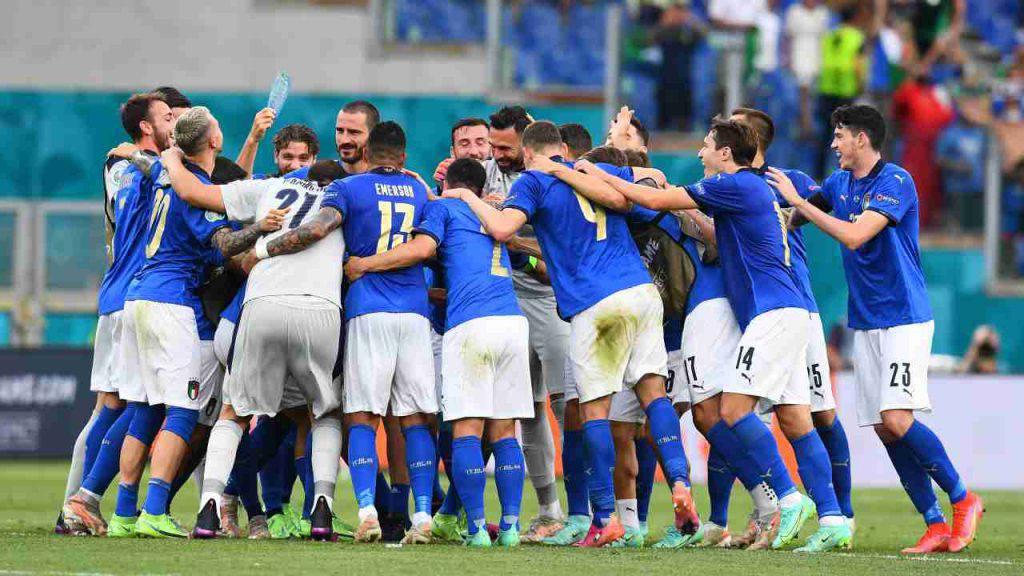 Euro 2020 Italia stampa estera