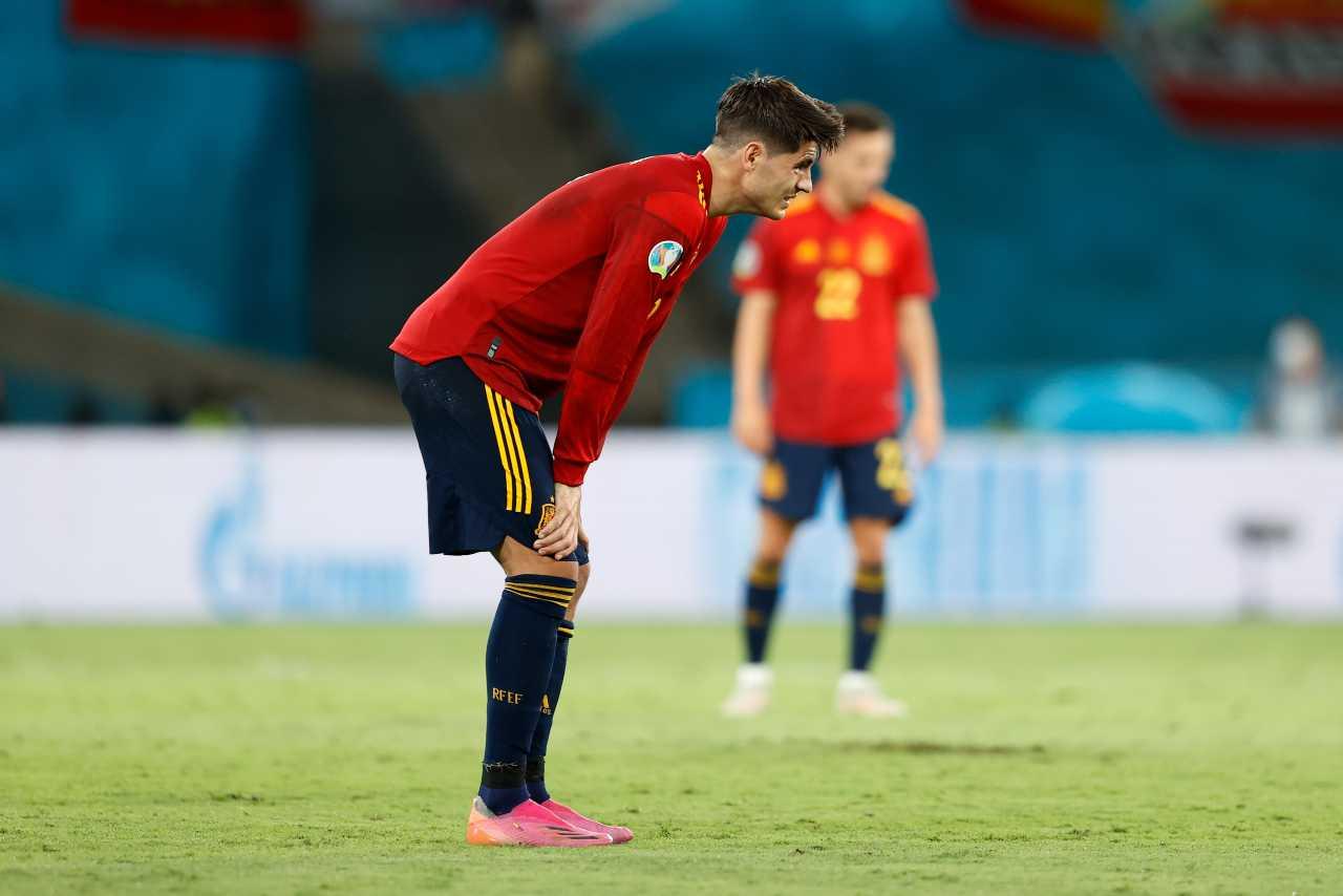 Morata Spagna EURO 2020