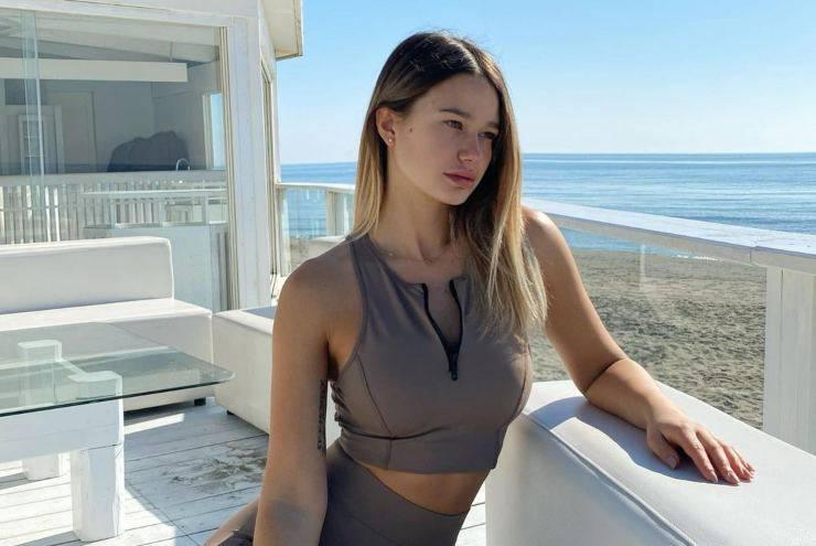 Flavia Natalini modella