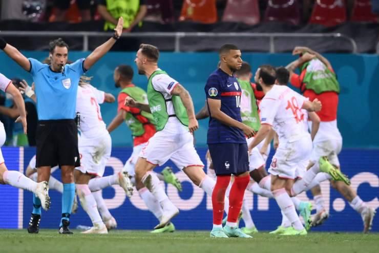 Francia-Svizzera Mbappé
