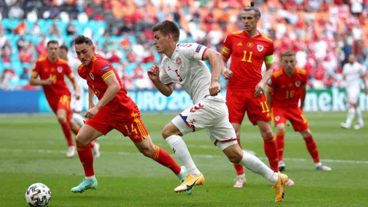 EURO 2020 Galles Danimarca Highlights